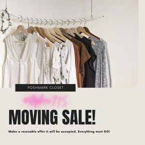 Moving Sale! Make an Offer!
